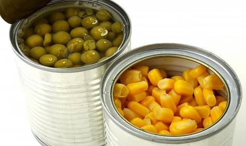 Canned Vegetables with Added Sodium