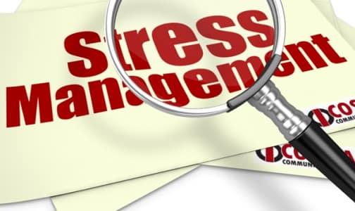 Effective Management of Stress