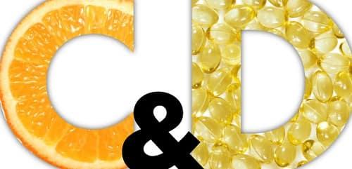 Vitamin C and Vitamin D