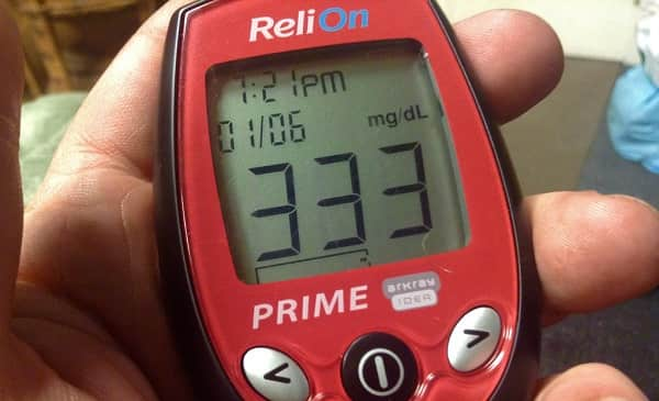 Blood Sugar Is Over 300