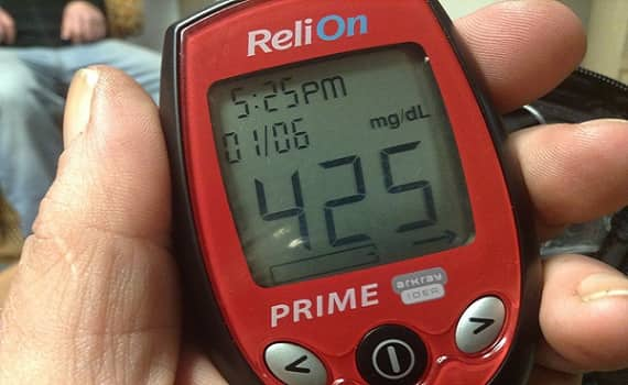 Blood Sugar Is Over 400