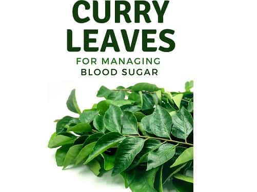 Curry Leaves Help Manage Blood Sugar